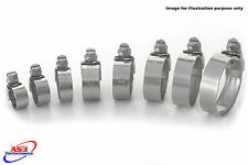 BMW F 650 GS / GS DAKAR 2000-2004 STAINLESS STEEL RADIATOR HOSE CLIPS CLIP KIT