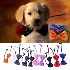 10PCS New Lovely Cute Bow Tie For Dog Cat Pet Necktie Neck Collar BEST HOT SALE