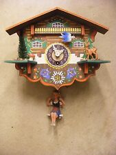 GERMAN CUCKOO CLOCK INSBRUCK MARIA THERESIENSTRA GHEDING NO KEY