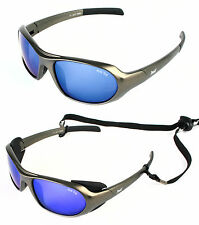 SPORT & SKI SUNGLASSES / GLACIER GLASSES Anti Fog, Strap, UV400 Side Protection