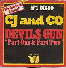 CJ and CO Devils gun FRENCH SINGLE DISCO 1977