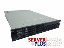 HP ProLiant DL380 G7 server 2x 2.93GHz QuadCore 80GB RAM 4x 450GB SAS HDD DVD