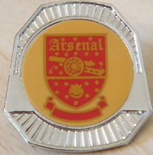 ARSENAL FC Vintage 1970s 80s insert type badge Brooch pin in chrome 30mm x 32mm