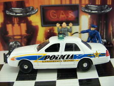 TIGER WHEELS LOT OF 5 FORD CROWN VICTORIA PUERTO RICO POLICE LOOSE 1:64 SCALE