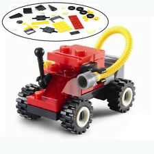 Baby Kids Jageson Fire Car Building  Puzzle Assembling Plastic Developmental Toy
