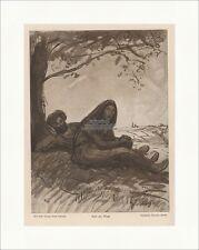 Rast am Wege Theophile Steinlen Paris Frankreich Georg Hirth Schrein Jugend 1869