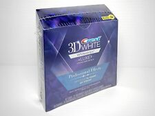 CREST 3D WHITE LUXE PROFESSIONAL EFFECTS BRAND NEW BOX 20 TREATMENTS/40 STRIPS