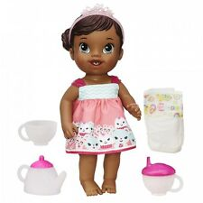 Baby Alive Lil' Sips Baby Has a Tea Party Doll African American