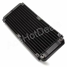 New Computer Radiator Water Cooling Cooler for CPU LED Heatsink Aluminum 240mm