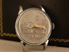 OMEGA JUDAICA COIN DIAL TISSOT LADY ART DECO VINTAGE WATCH  WORKING SERVICED
