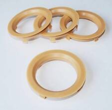 x4 Spigot Rings 70.1mm for Dezent Alloys to fit VW Corrado