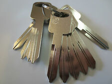 Lot of 10 H75 Key Blank / Nickel Plated / JMA Made in Mexico /Free Shipping
