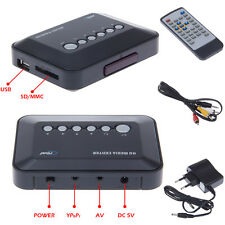 Multi Media Player Center USB TV HD 720P Music Movie MP3 RMVB AVI MPEG4+Remote