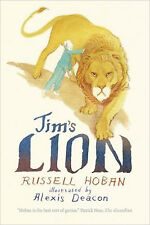 Jim's Lion, New, Hoban, Russell Book