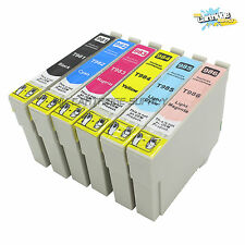 6PK Ink For Epson 98 99 T098 T0981-T0986 Artisan 800 810 835 837 700 710 725 730