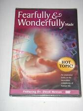 FEARFULLY & WONDERFULLY MADE Complexity of Human Life Dr. David Menton NEW DVD