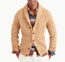 Men's Hand Knitted Cardigan XS,S,M,L,XL,XXL jacket Wool Hand Knit sweater 2k