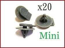 20x BMW Mini Protective Plastic Side Skirt /Sill Cover Trim Fastener Clips rivet