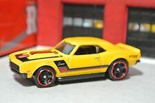 Hot Wheels '68 Chevy COPO Camaro - Yellow - Loose - 1:64 - Exclusive