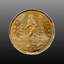 Canada 2005 Terry Fox Canadian Loonie In Brilliant Unc.