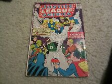 JUSTICE LEAGUE OF AMERICA #21  1ST SILVER AGE HOURMAN/DR.FATE CRISIS ON EARTH 1