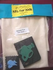 Kits For Kids Creative Craft Fun-Decorate Your Own Apron Kit Ages3-103  NEW