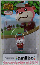 Karlotta / Lottie Animal Crossing Amiibo Figur - Nintendo WIIU 3DS Neu