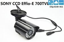 "Security 1/3"" Sony Effio-E CCD 700TVL Lens 3.6mm IR 30m Waterproof CCTV Camera"