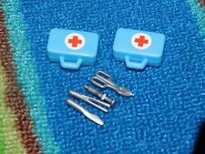 PLAYMOBIL from PlaymorePlaymo hospital emergency medical bag ambulance tools lot