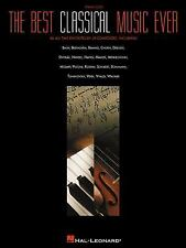 The Best Classical Music Ever: Piano Solo Sheet Music / Songbook 295 pages