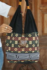 New Thai Hill Tribe Cotton Boho Hippie Purse Sling Shoulder bag Handbag BG49