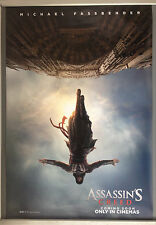Cinema Poster: ASSASSIN'S CREED 2017 (Advance One Sheet) Michael Fassbender