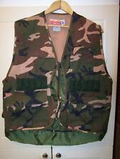 Winchester Camo Woodland Hunting Vest with Game Bag & Shell Holders Men's Medium