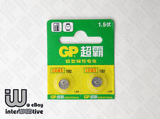2 x NEW GP LR41 LR 41 AG3 192 392 LR736 SR41 G3 G3A V3GA Button Cell Battery