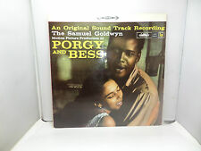 PORGY AND BESS SOUND TRACK SAMUEL GOLDWYN BS KLLS1619 LP VINYL RECORD