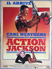 Affiche ACTION JACKSON Carl Weathers CRAIG T. NELSON 40x60cm *
