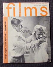 1964 Nov FILMS AND FILMING Magazine VG Carroll Baker - The Carpetbaggers
