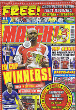 ARSENAL Match May 24 2004 - 5 STILL SEALED + CHAMPIONS LEAGUE MAG