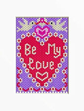 BE MY LOVE PONY BEAD BANNER PATTERN