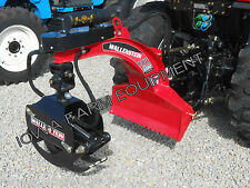 'RED' Wallenstein LX5100 Tractor 3-Point Bypass Log Grapple