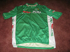 TOUR DE FRANCE 2007 NIKE GREEN POINTS CLASSIFICATION  ITALIAN CYCLING JERSEY [L]