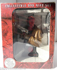 RARE HELLBOY Sculpture Limited Edition Collectible Dvd gift set 3 disc ~