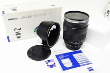 Carl Zeiss 35mm f1.4 T* Distagon  ZF.2 Lens f/Nikon Film & Digital SLR Boxed