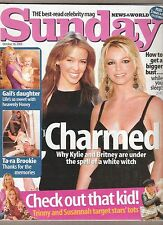 KYLIE MINOGUE / BRITNEY SPEARS cover and article one day only UK magazine 2003