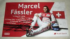 Le Mans 2015 - FIA WEC - Audi R18 - Marcel Fassler 3RD In LMP1 Signed Card