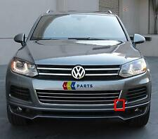 VW TOUAREG 10-14 NEW GENUINE FRONT BUMPER N/S LEFT TOW HOOK COVER CAP 7P6807185