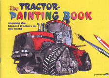 THE TRACTOR PAINTING BOOK, colouring book for children