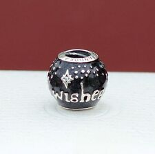 New Disney Pandora 2015 Wishes Fireworks Sparkling Silver Charm Bead IN HAND