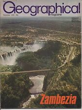 the geographical magazine-DEC 1978-ZAMBEZIA.