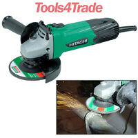 "Hitachi G12SS 115mm / 4.5"" Electric Angle Grinder 580W - 240V New G12ST"